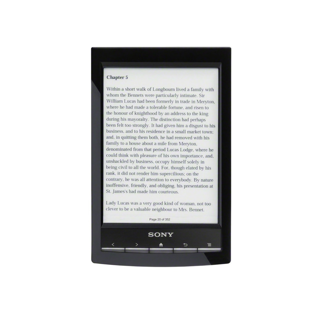 "Sony Formally Announces World's Lightest 6"" eReader + Dedicated ""Public Library"" Wireless + Harry Potter eReader & Free E Book Promo"