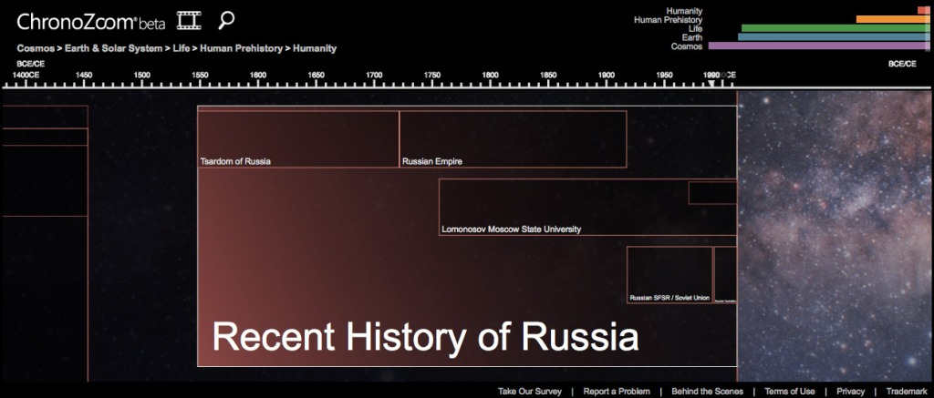 History: Interactive Timeline Database and Open Source Software Project Launches Beta of Version 2.0