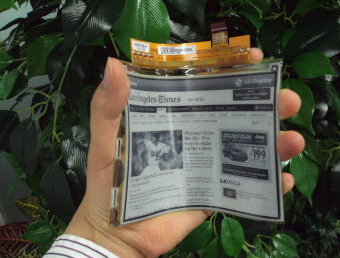 Bendable eBooks? 6 inch Electronic Paper Display Production Underway